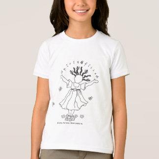 Camiseta T Espírito-Enchido das meninas