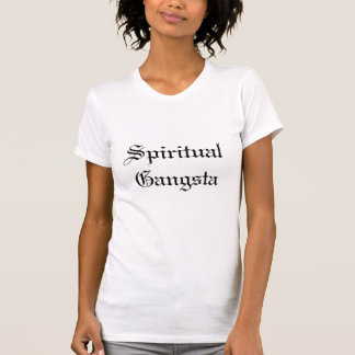 Camiseta T espiritual de Gangsta das senhoras