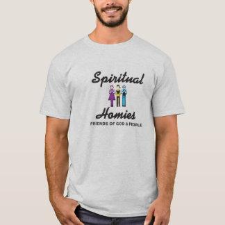 Camiseta T espiritual do cinza de Homies
