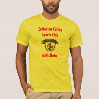 Camiseta T etíope do clube desportivo do café