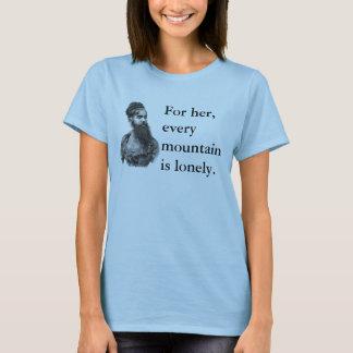 Camiseta T farpado da senhora