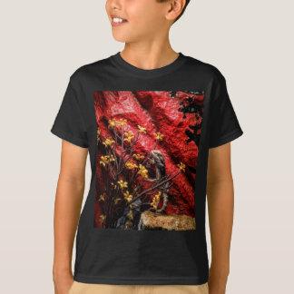 Camiseta T farpado do dragão