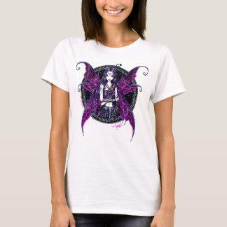 "Camiseta T feericamente da boneca do rosa quente de ""Zoe"""