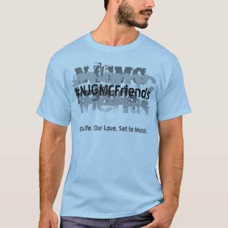 Camiseta T feito sob encomenda da cor dos homens gráficos