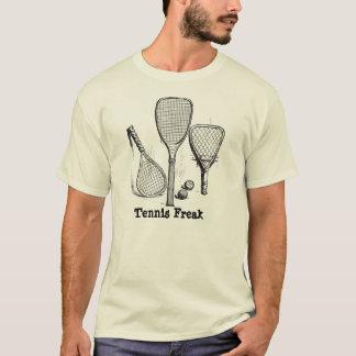 Camiseta T feito sob encomenda do anormal do tênis do