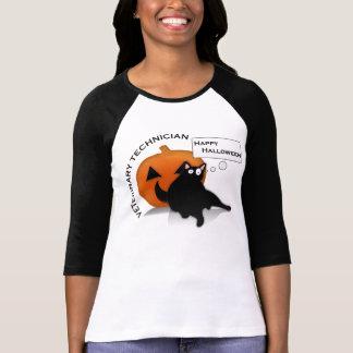 Camiseta T feliz da tecnologia do veterinário do Dia das