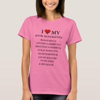 Camiseta T final do namorado do livro do laço de Lolah