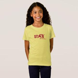 Camiseta T fino do roupa do estado da estrela do jérsei da