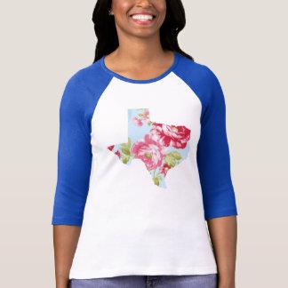 Camiseta T floral de Texas