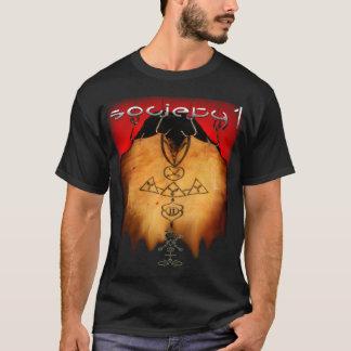 Camiseta T frente e verso da suspensão