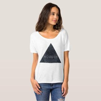 Camiseta T geométrico Woodsy do inverno