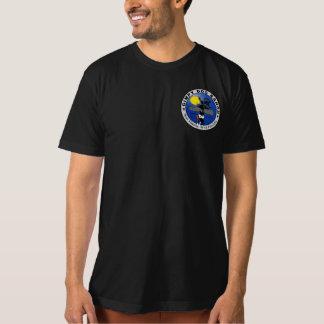 Camiseta T Gimpy orgânico do rancho do cão dos homens