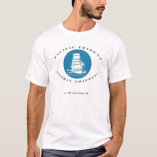 Camiseta T global pacífico do transporte de Trident