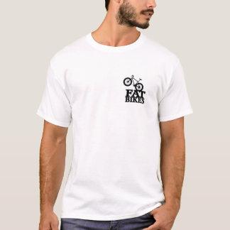 Camiseta T gordo 2 da bicicleta tomado partido