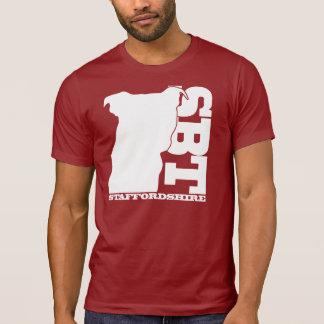 Camiseta T gráfico de SBT - Staffordshire bull terrier