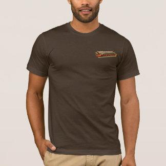 Camiseta T grande da harpa