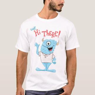 Camiseta T impressionante do monstro
