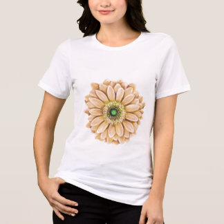 Camiseta T impresso floral