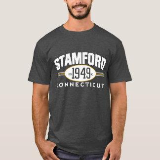 CAMISETA T INCORPORADO CIDADE 1949 DE STAMFORD CONNECTICUT
