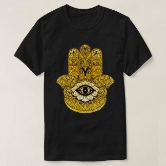 Camiseta T Indie do gráfico da arte do símbolo de Hamsa do