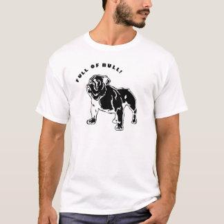 Camiseta T inglês do buldogue