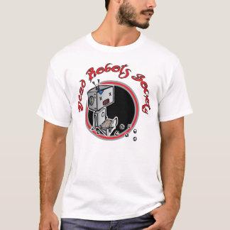 Camiseta T inoperante do círculo do robô