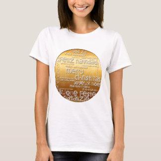 Camiseta T internacional de Navidad Noel W do Natal