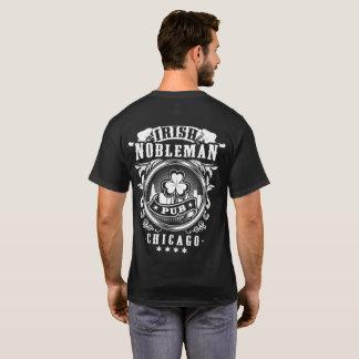 Camiseta T irlandês do bar do nobre
