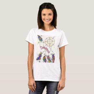 Camiseta T irrisório do sonhador