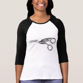 Camiseta T livre do basebol do pássaro