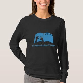 Camiseta T longo da luva das senhoras