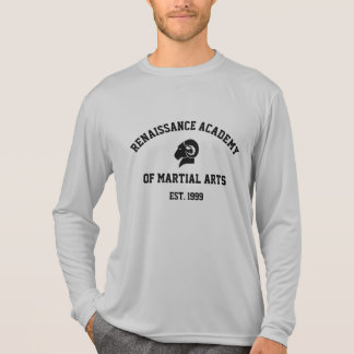 Camiseta T longo da luva de RAM do Esporte-Tek da