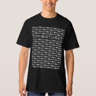 Camiseta T longo imaturo