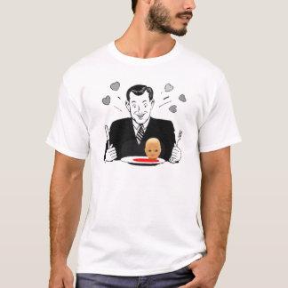 Camiseta T louco do canibal