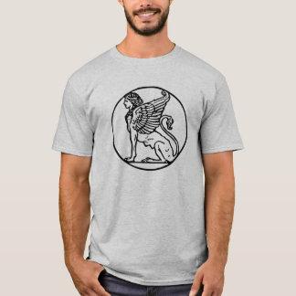 Camiseta T misterioso da esfinge