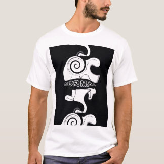 Camiseta T normal (branco)