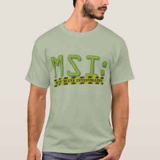 Camiseta T oficial do logotipo de MSI