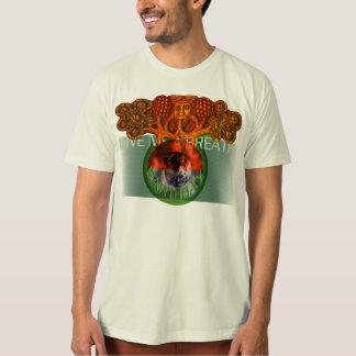 Camiseta T orgânico do Dia da Terra 2