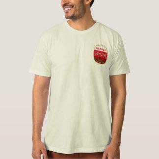 Camiseta T orgânico genuíno
