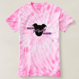 Camiseta T orgulhoso de TieDye do pai do filhote de