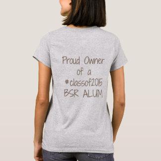 Camiseta T orgulhoso do proprietário 2015 das mulheres