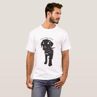Camiseta T orgulhoso do Raiser do filhote de cachorro