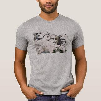 Camiseta T patriótico do marco americano do Monte Rushmore