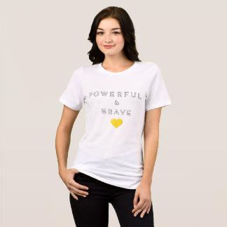 Camiseta T poderoso