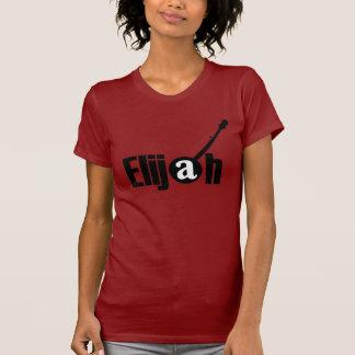 Camiseta T preto da menina do logotipo