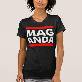 Camiseta T preto de Maganda