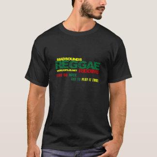 Camiseta T preto de Riddims da reggae