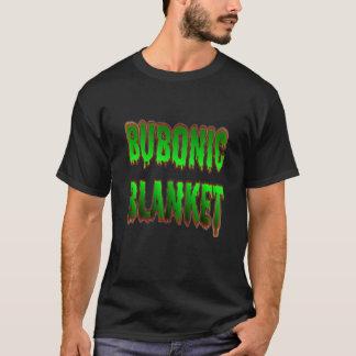 Camiseta T preto geral bubónico