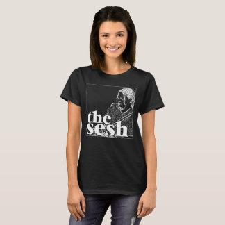 "Camiseta T preto no Sesh da mulher ""Dave Herrero"""