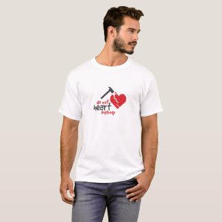 Camiseta T quebrado dos namorados de dano